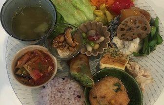 長久手市の美味しくて野菜たっぷりヘルシープレート「カフェ・ルシッカ」